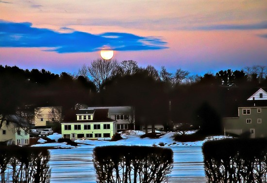 Sunset turn to Moonrise by joansmor