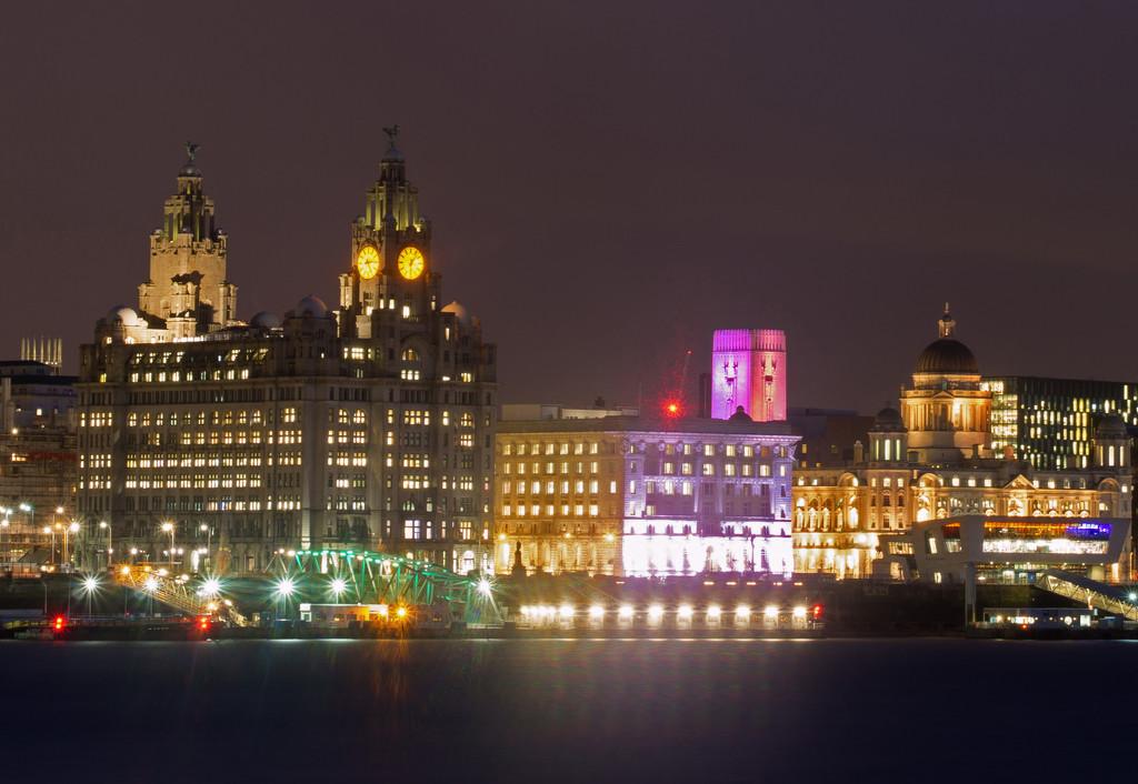 2. Liverpool's Three Graces by bluefirebucket