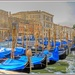Gondolas On The Grand Canal, Venice