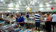 15th Jan 2017 - Choosing their favourite books at the Charity Book Sale  Brisbane