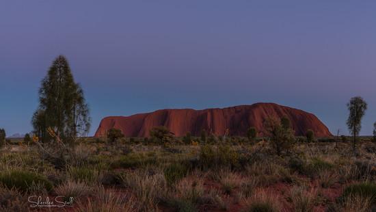 Uluru before sunrise by bella_ss