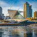Calatrava Art Museum Ice Scene by myhrhelper