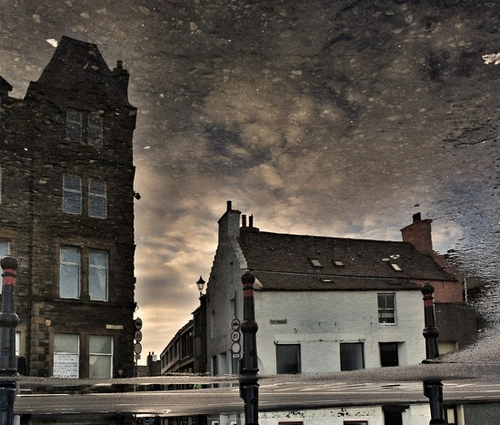 Reflection from the pier head  by ingrid2101