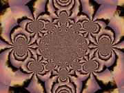 18th Jan 2017 - Sunrise reflection on Contrails - Kaleidoscoped