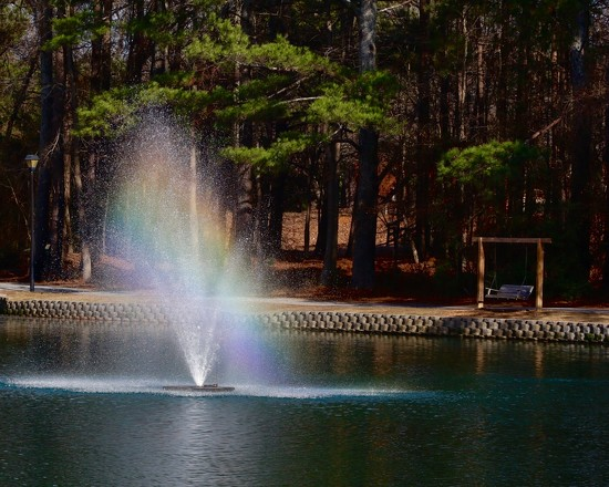Rainbow Fountain by jnorthington