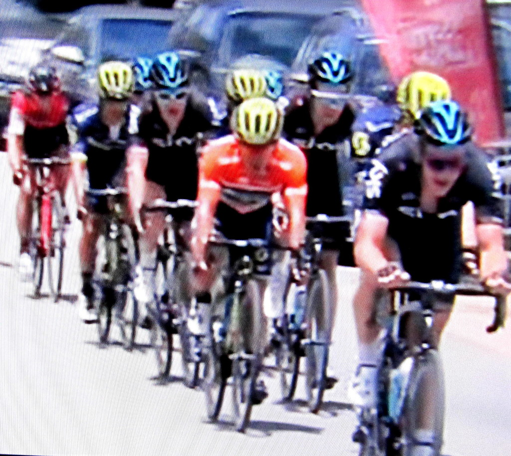 Tour Down Under,  Adelaide Hills staged yesterday by 777margo