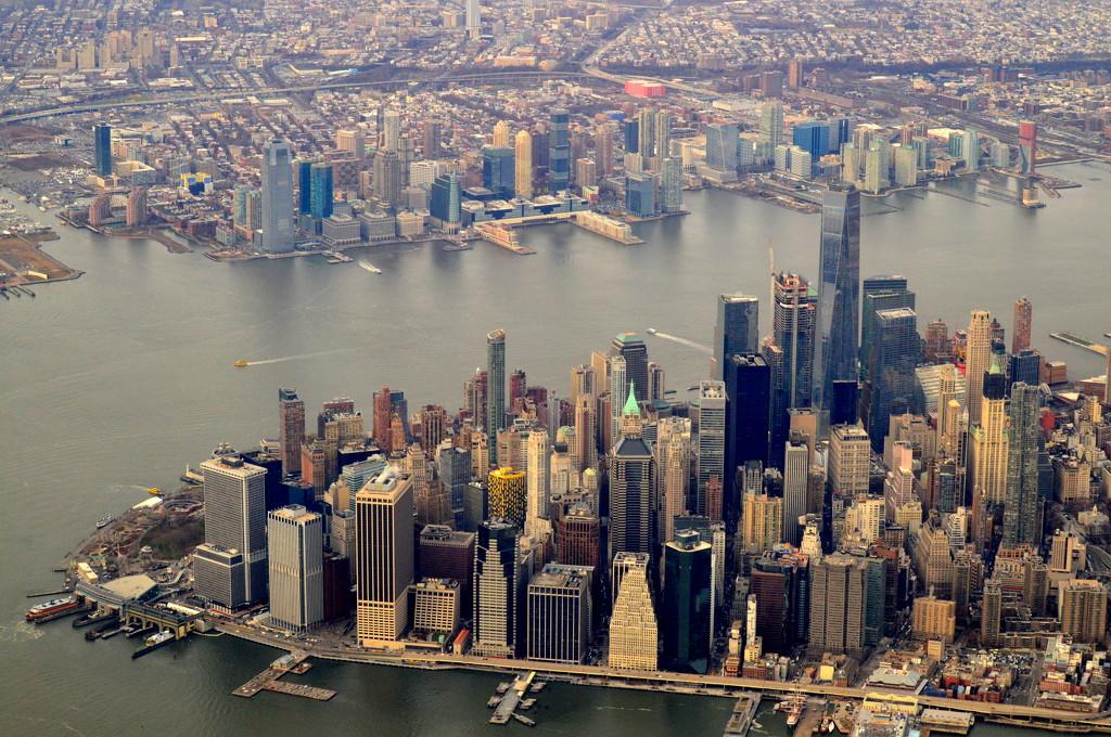 New York City Skyline by kareenking