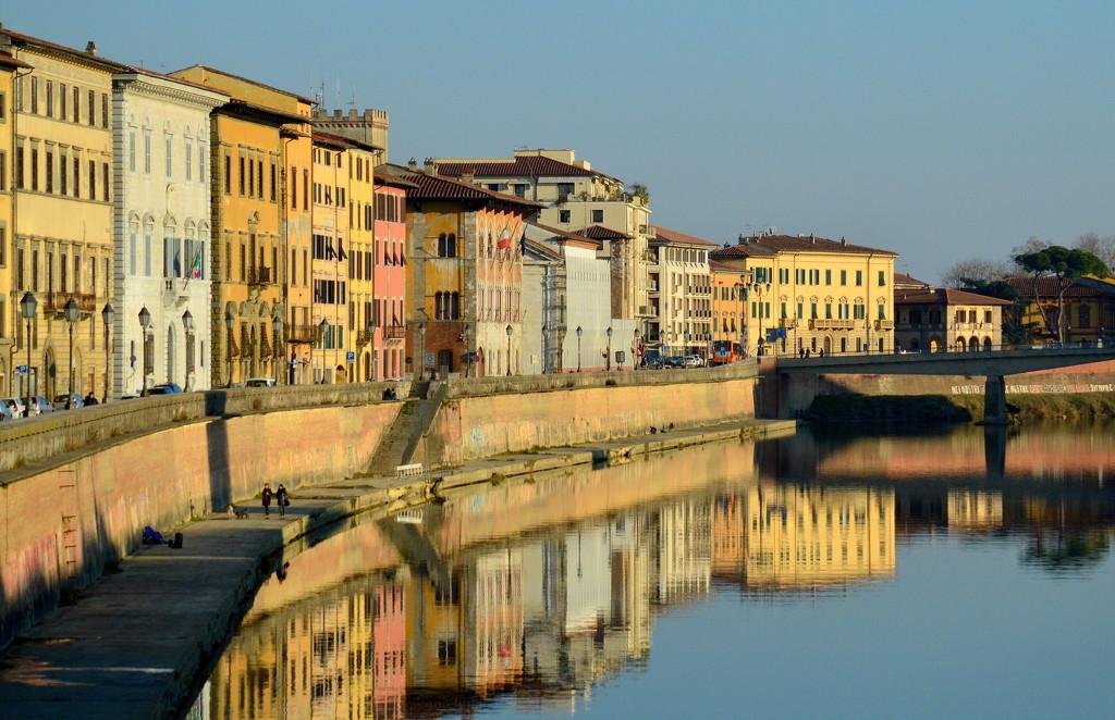 A Morning Stroll in Pisa by kareenking