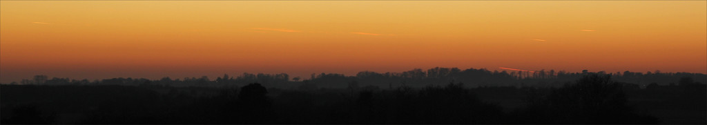 Sunset on a January Friday by ruthhill75