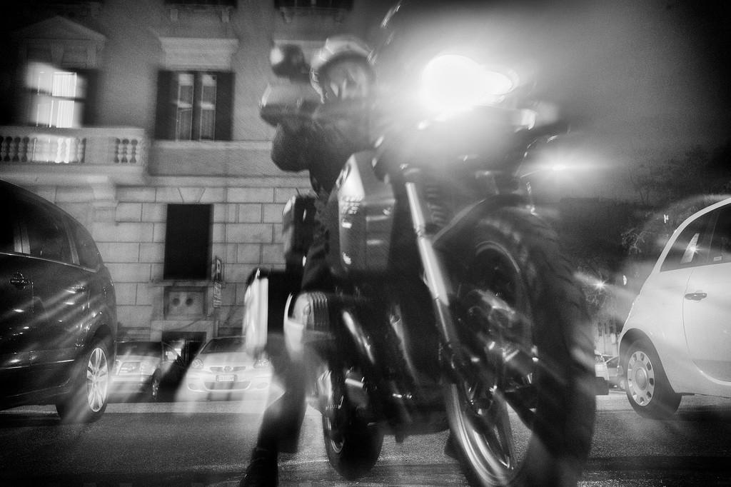 Night rider by fiveplustwo