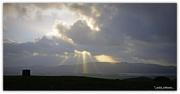 23rd Jan 2017 - God Beams...Spot light over the river hills..