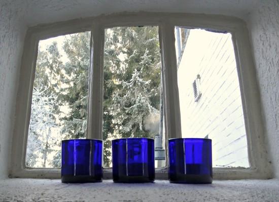 blue glass by gijsje