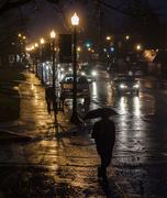 23rd Jan 2017 - Night walking in the rain