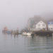 Foggy Harbour by dorsethelen