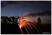 26th Jan 2017 - Fireworks and Venus....