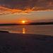 Ferry Beach Sunset by dianen