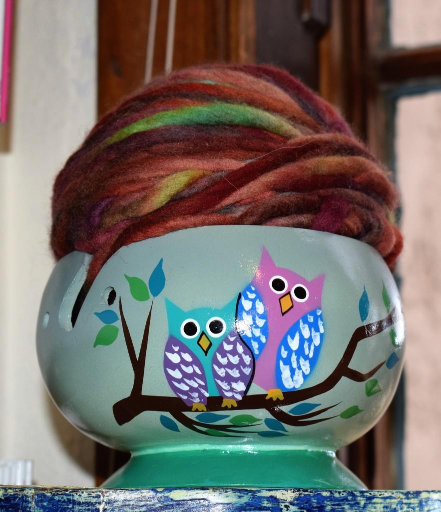yarn and owls by sandlily