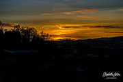 30th Jan 2017 - Sunset from the porch