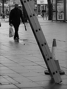 1st Feb 2017 - Tradition not to walk under the ladder