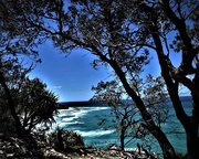 2nd Feb 2017 - A Last Glimpse of North Stradbroke Island ~