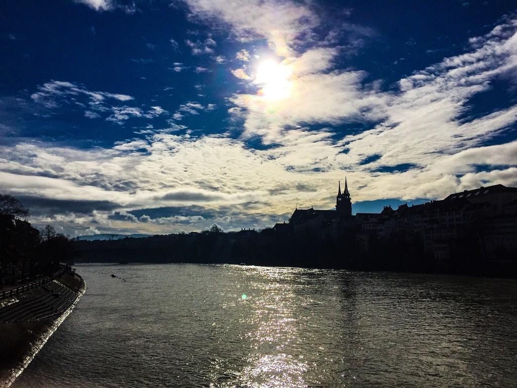 Basel in contre-jour.  by cocobella