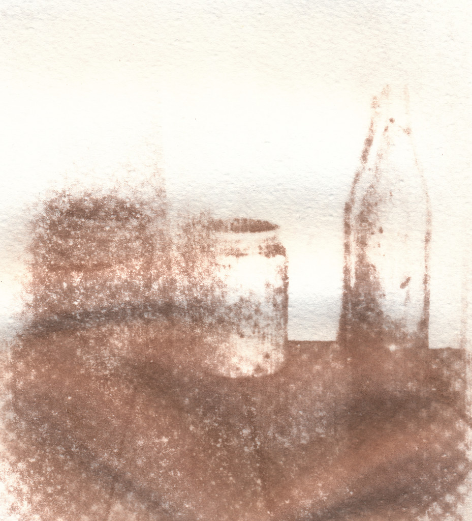bottles gum print  by ingrid2101