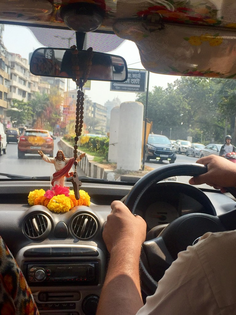 altar in a taxi by veengupta