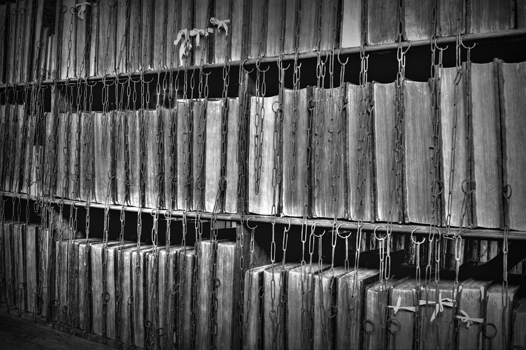 Chained Library by judithdeacon