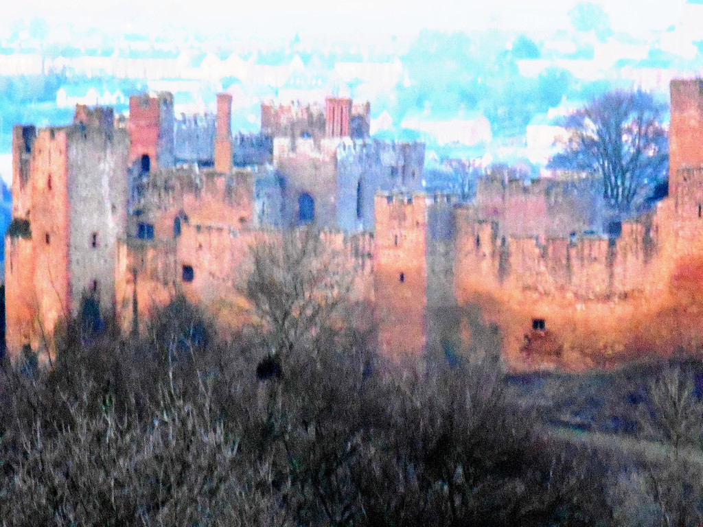Ludlow Castle ... by snowy