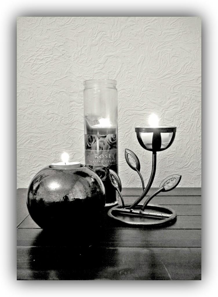 Candles - B/W by beryl