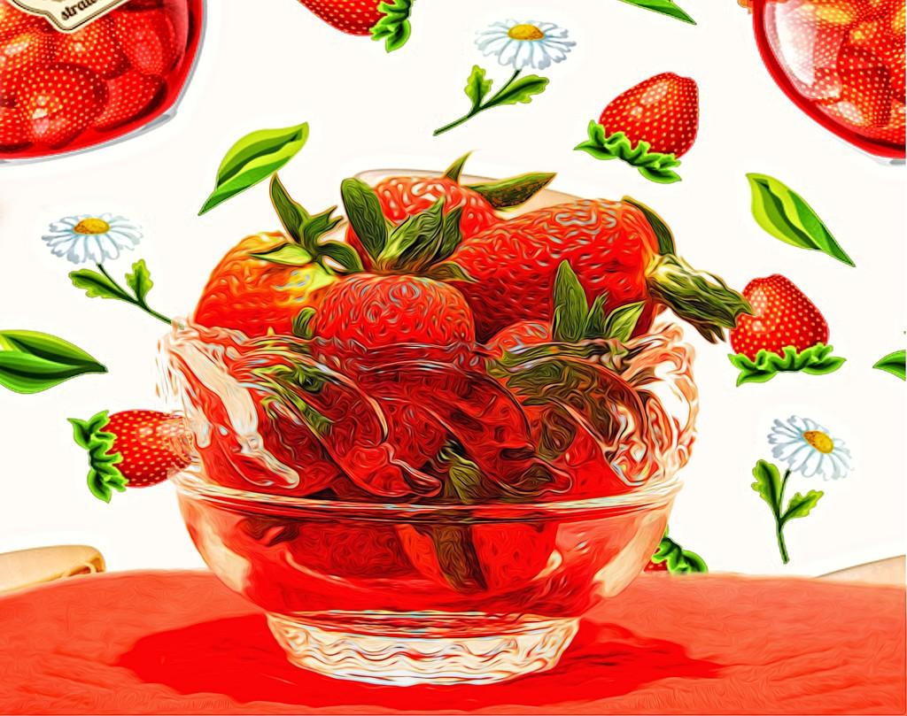 Strawberries Remind Me of Summer by joysfocus