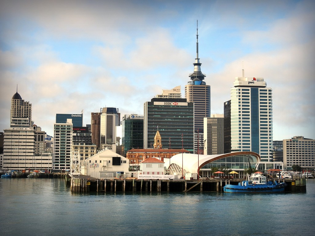 Auckland Waterfront by yorkshirekiwi