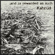 """13th Feb 2017 - Album Cover Challenge: Kahrud - """"... and is rewarded as such"""""""