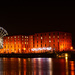 Albert Docks at night