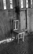 13th Feb 2017 - Chair in shed