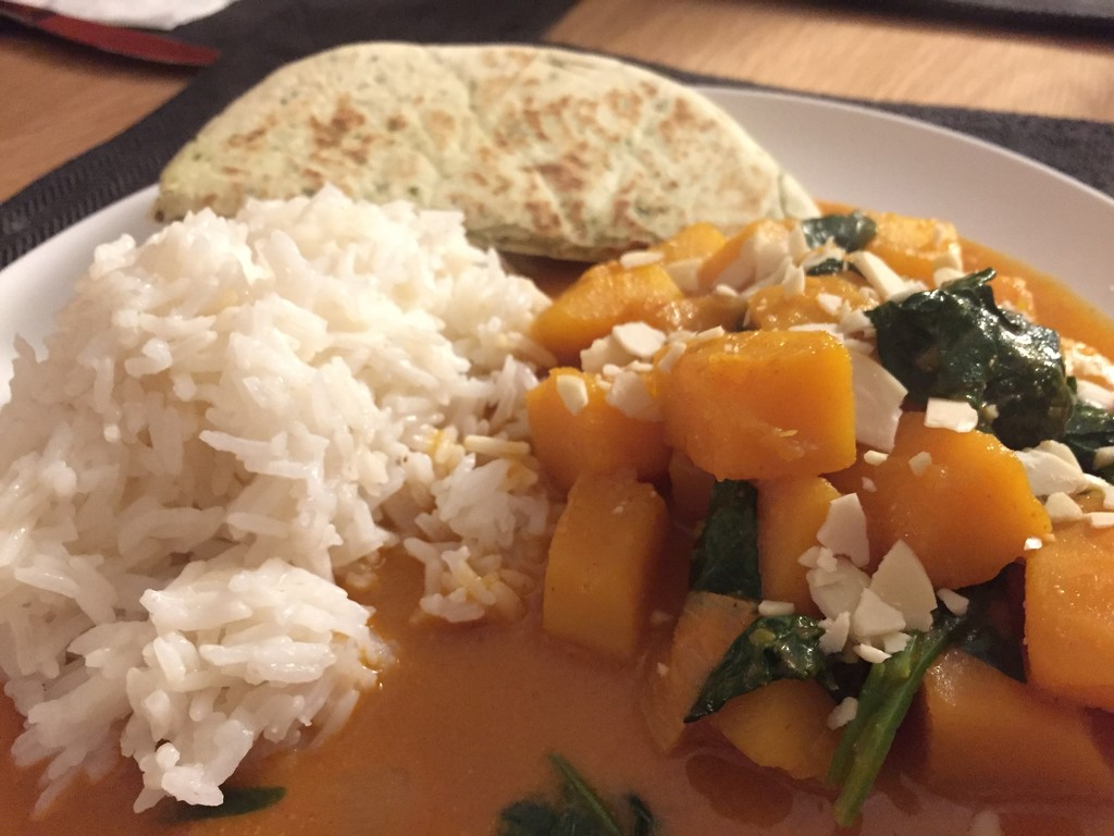 #15 Butternut Squash Thai Red Curry by bilbaroo