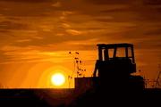 16th Feb 2017 - Tractor, Kansas Sunset
