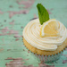 Lemon Birthday Cupcake