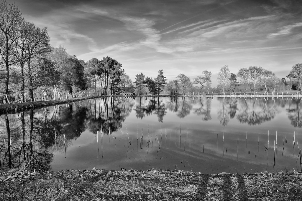 PLAY February - Fuji 18mm f/2: Another Lake by vignouse