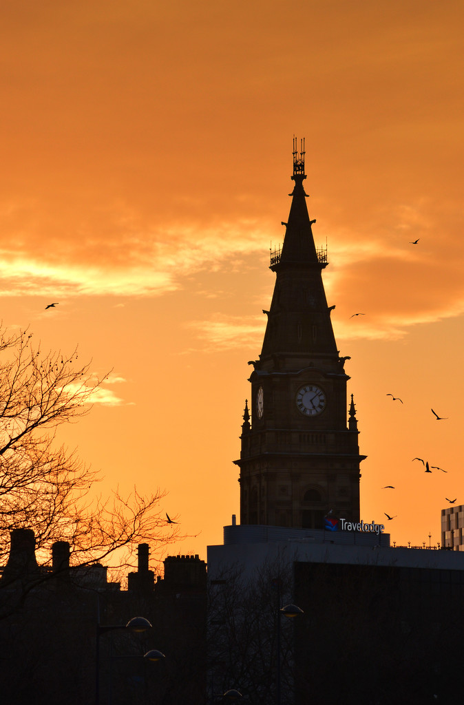 Liverpool Sunset by blueace