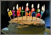 21st Feb 2017 - My birthday cake