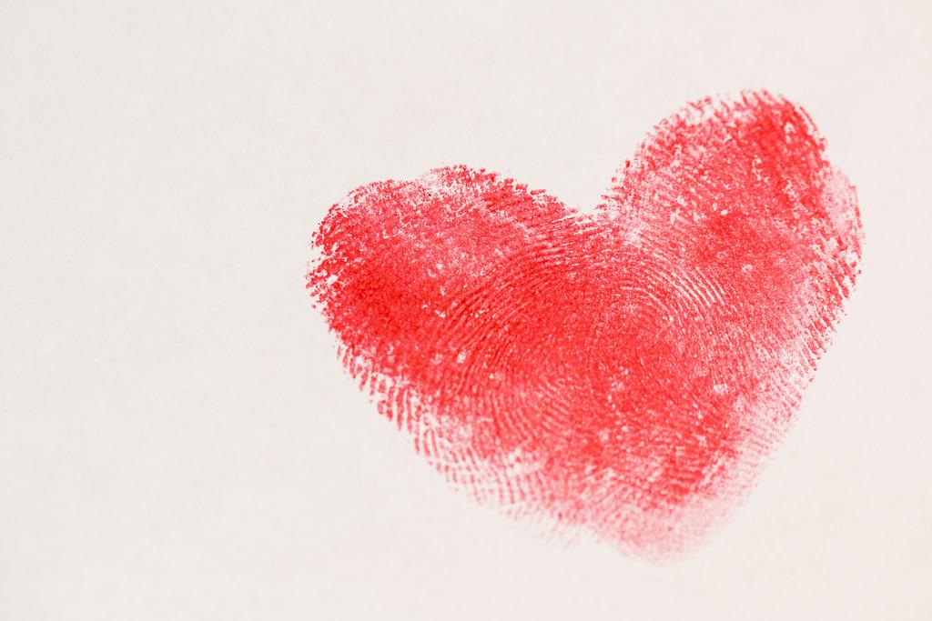 Love is - Thumb Prints!! by bizziebeeme