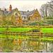Coton Manor Gardens In Winter