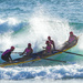 The Coolum Beach surf boat carnival is on by hrs