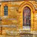 Old Church Door And Window