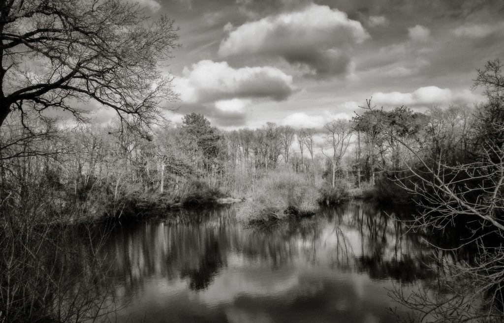 PLAY Feb - Fuji 18mm f/2: Quarry Pond by vignouse