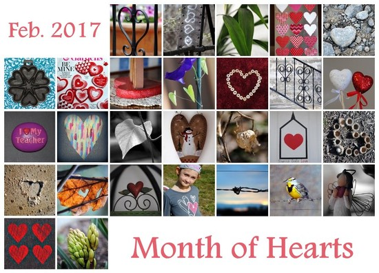 Month of Hearts by genealogygenie