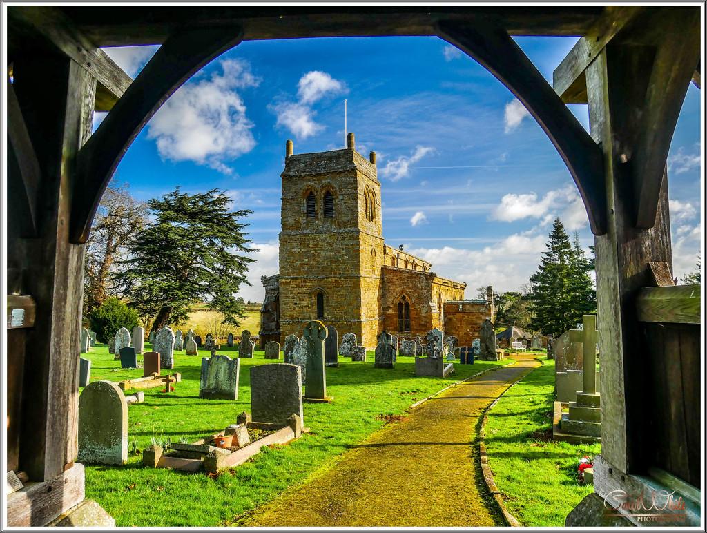 St.Andrew's Church,Harlestone From The Lych Gate by carolmw