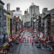 4th Mar 2017 - Chinatown Street with Lanterns