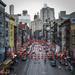 Chinatown Street with Lanterns by jyokota